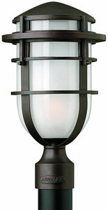 Hinkley Reef 1-Light Outdoor Post Lantern Victorian Bronze 1951VZ