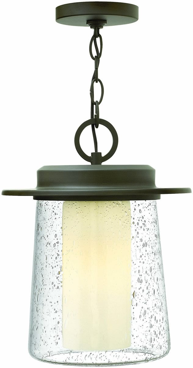 Riley 1-Light Outdoor Pendant Oil Rubbed Bronze