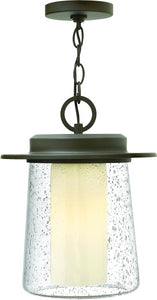 Riley 1-Light Outdoor Pendant Light Oil Rubbed Bronze