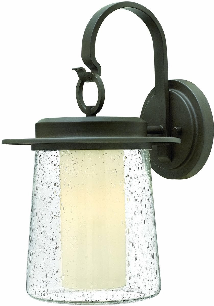 Riley 1-Light Outdoor Wall Light Oil Rubbed Bronze