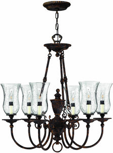 Hinkley Rockford 3-Light Chandelier Forum Bronze 4626FB