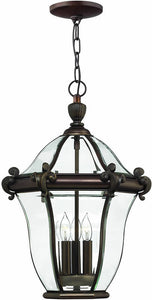 Hinkley San Clemente 3-Light Outdoor Pendant Copper Bronze 2442CB