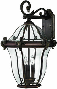 Hinkley San Clemente 3-Light Large Outdoor Wall Lantern Copper Bronze 2445CB
