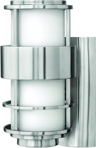 Hinkley Saturn 1-Light Outdoor Wall Light Stainless Steel 1900SS-LED