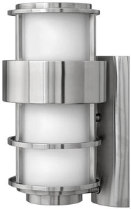 Hinkley Saturn 1-Light Outdoor Wall Mount Stainless Steel 1904SS