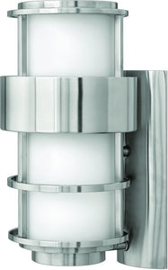 Hinkley Saturn 1-Light Outdoor Wall Light Stainless Steel 1904SS-LED
