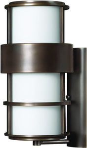 Hinkley Saturn 1-Light Outdoor Wall Light Metro Bronze 1905MT-LED