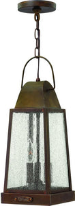 Hinkley Sedgwick 3-Light Outdoor Pendant Sienna 1772SN