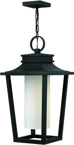 Hinkley Sullivan 1-Light Outdoor Pendant Light Black 1742BK