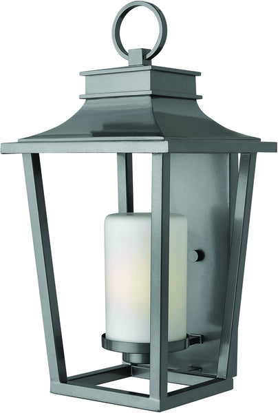 Hinkley Sullivan 1-Light Large Outdoor Wall Lantern Hematite 1745HE