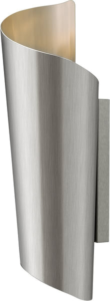 Hinkley Surf 2-Light Wall Outdoor Stainless Steel 2354SS
