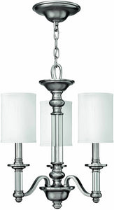 Hinkley Sussex 3-Light Chandelier Brushed Nickel 4793BN