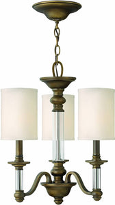 Hinkley Sussex 3-Light Chandelier English Bronze 4793EZ