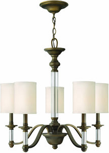 Hinkley Sussex 5-Light Chandelier English Bronze 4795EZ