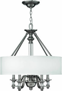 Hinkley Sussex 4-Light Chandelier Brushed Nickel 4797BN