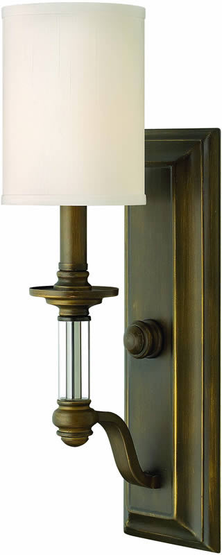 "5""w Sussex 1-Light Wall Sconce English Bronze"