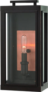 Sutcliffe 1-Light Outdoor Wall Light Oil Rubbed Bronze