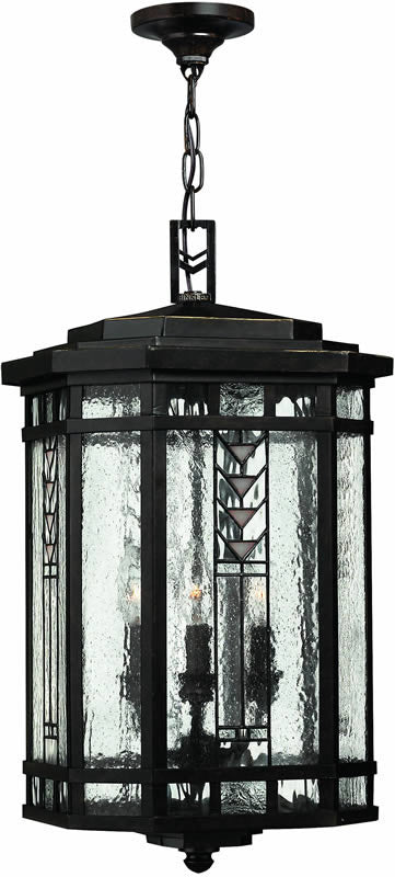 "12""w Tahoe 4-Light Outdoor Pendant Regency Bronze"