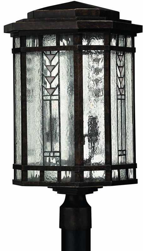 "22""h Tahoe 4-Light Large Outdoor Post Lantern Regency Bronze"