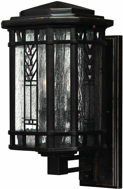 "17""h Tahoe 3-Light Outdoor Wall Lantern Regency Bronze"