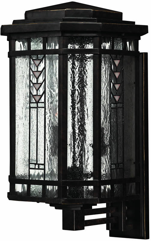 "23""h Tahoe 4-Light Large Outdoor Wall Lantern Regency Bronze"