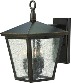 Trellis 3-Light Outdoor Wall Light Regency Bronze 1429RB