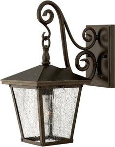 Hinkley Trellis 1-Light LED Wall Outdoor Regency Bronze 1430RBLED