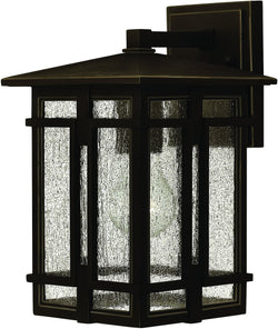 Tucker 1-Light Outdoor Wall Light Oil Rubbed Bronze