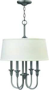 Hinkley Webster 4-Light Chandelier Antique Nickel 3736AN