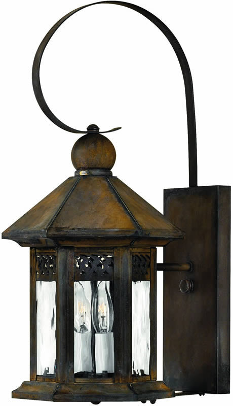 "19""h Westwinds 2-Light Outdoor Wall Lantern Sienna"