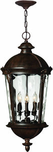 Hinkley Windsor 4-Light Outdoor Pendant River Rock 1892RK