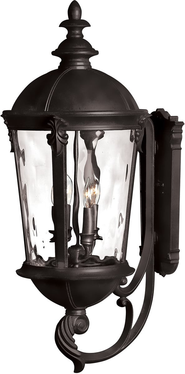 "32""h Windsor 4-Light Wall Outdoor Black"