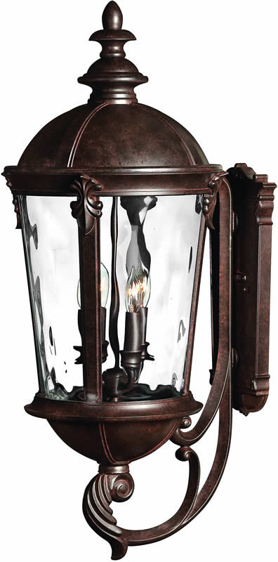 "32""h Windsor 4-Light Large Outdoor Wall Lantern River Rock"