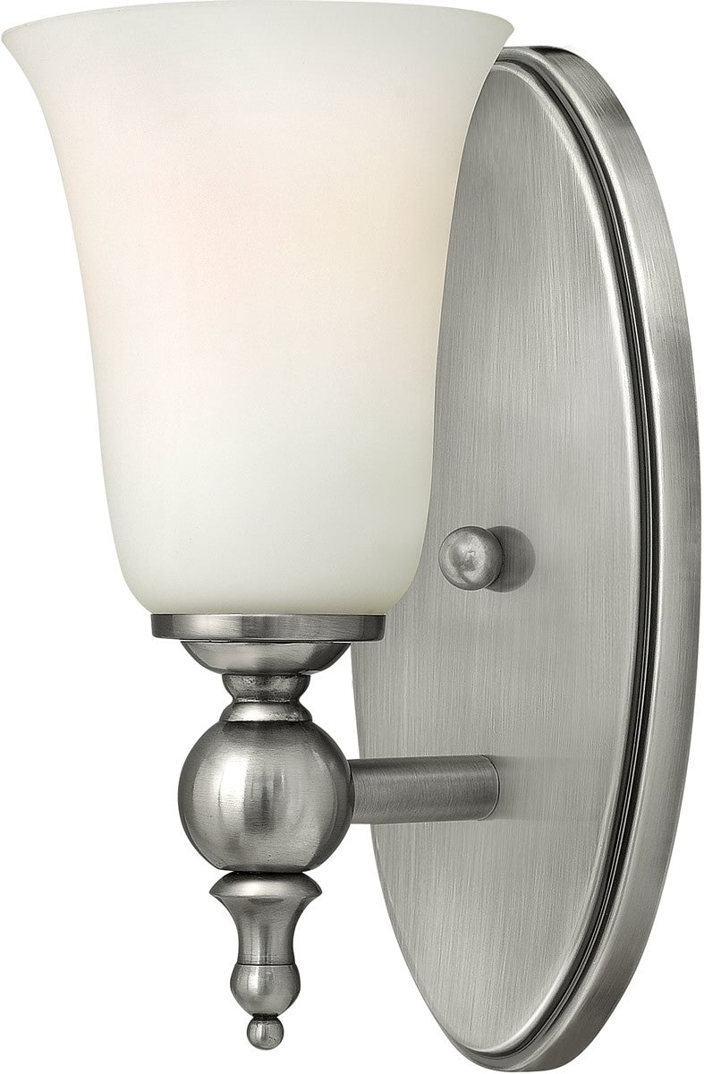 "5""w Yorktown 1-Light Bath Antiqued Nickel"