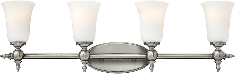 "33""w Yorktown 4-Light Bath Antique Nickel"