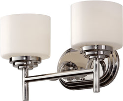 Home Solutions Malibu 2-Light Vanity Polished Nickel VS26002PN