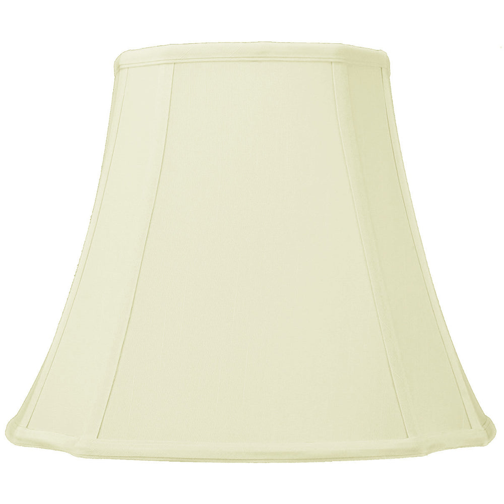 "12""W x 11""H French Oval Eggshell Lampshade"
