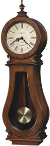 Arendal Wall Clock Tuscan Cherry