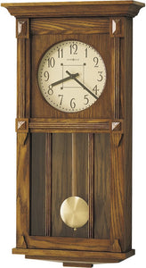 Howard Miller Ashbee II Quartz Wall Clock Heritage Oak 620185