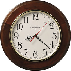 Howard Miller Brentwood Quartz Wall Clock Windsor Cherry 620168