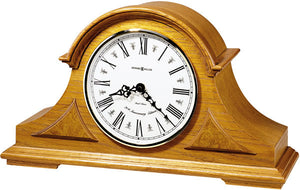 "10""H Burton Mantel Clock Golden Oak"