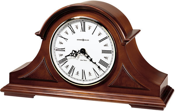 "10""h Burton II Mantel Clock Windsor Cherry"