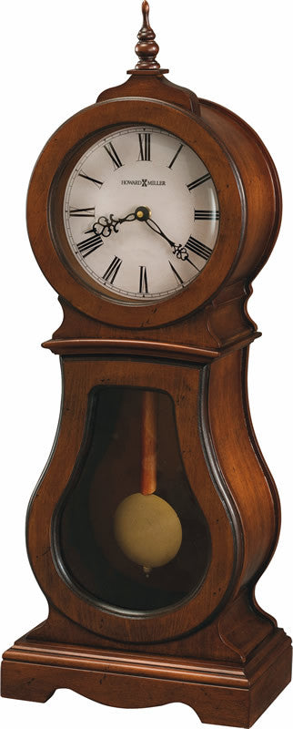 "24""H Cleo Mantel Clock in Chestnut"