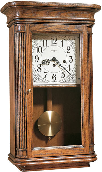 "24""H Sandringham Wall Clock Oak Yorkshire"