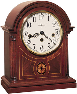 Howard Miller Barrister Mantel Clock Mahogany 613180