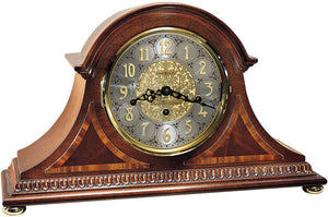 "11""H Webster Mantel Clock Windsor Cherry"