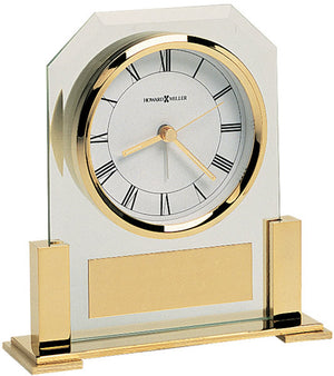 "6""H Paramount Alarm Clock Polished Brass"