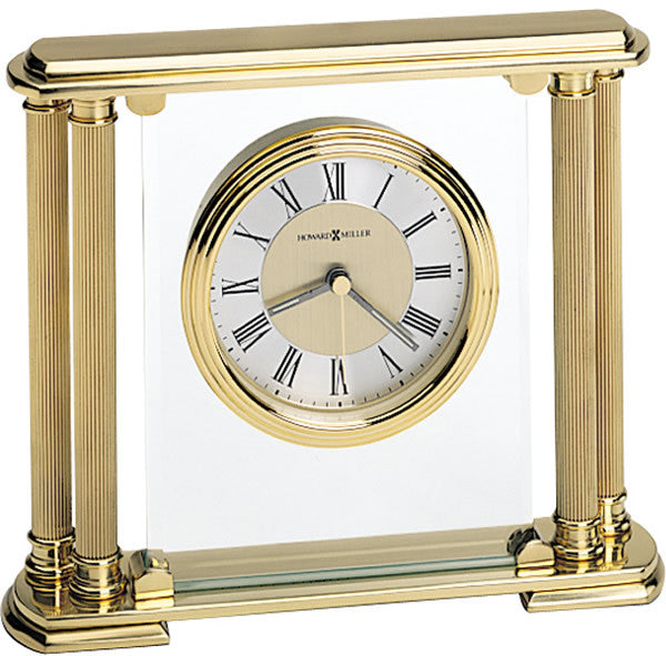 Athens Table-top Clock Brushed Brass