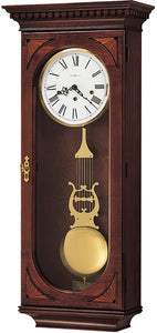 Howard Miller Lewis Wall Clock Windsor Cherry 613637