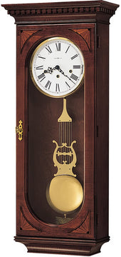 "34""H Lewis Wall Clock Windsor Cherry"